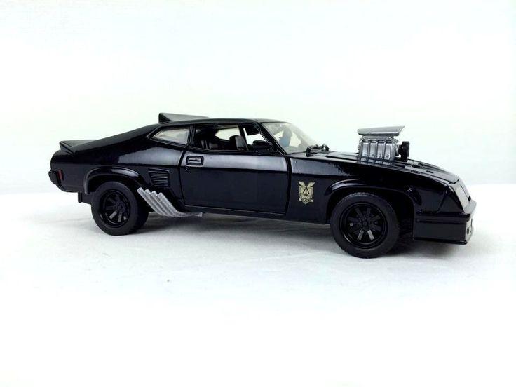1/24 Mad Max 1973 XB Ford Falcon GT Last of the V8 Interceptors Pursuit Special #DiecastDistributorsAustralia #Ford