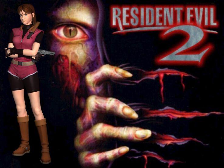 Resident Evil-2 заставка Клэр А.