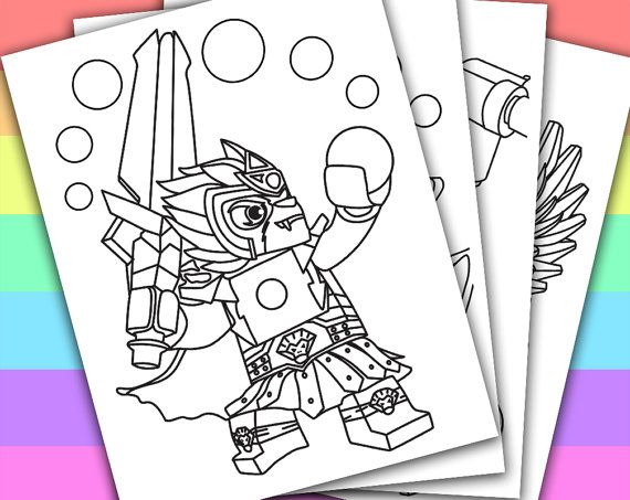 Lego Chima   Animation Movies  4 Coloring Pages  by PetiteMonkey
