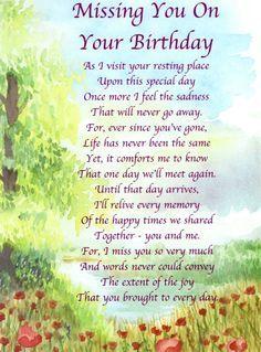 Happy Birthday Mom!!  Miss you so very much!!