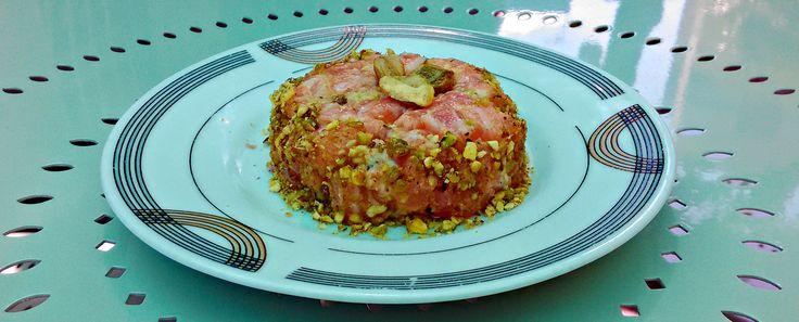 tartare salmone e pistacchi #ricetta #estate #recipe