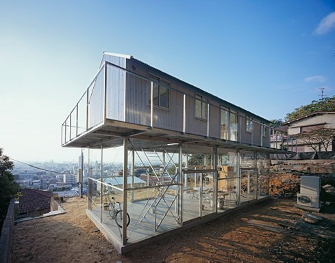House in Rokko by Tato Architects: Residential Architecture, Houses, Rokko, Favorite Places, Beaches House, Tatoarchitect, Tato Architects, Japan Architecture, Glasses House