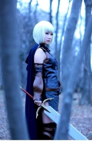Claymore - Claire the Silver-eyed Witch