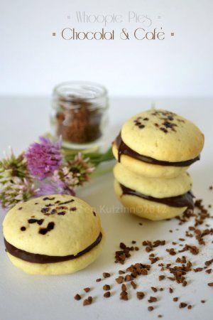 Whoopie Pies ganache chocolat & café