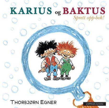 Karius og Baktus: sprett-opp bok!