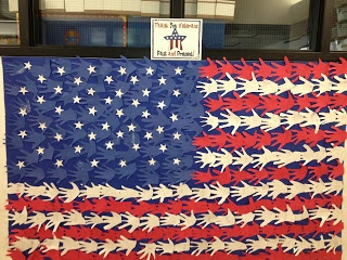 "Thank You Veterans ""Handmade"" Flag - and other Veterans Day ideas"