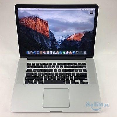 """Apple 2015 MacBook Pro Retina 15"""" 2.8GHz I7 512GB 16GB MJLQ2LL/A-BTO  B Grade"""