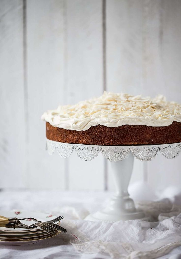 Apple, almond and coconut cake by Gillian, Nichola & Linsey Reith from Three Sisters Bake | Cooked
