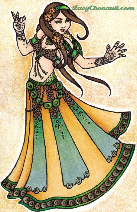 Sona dançarina do ventre tribal