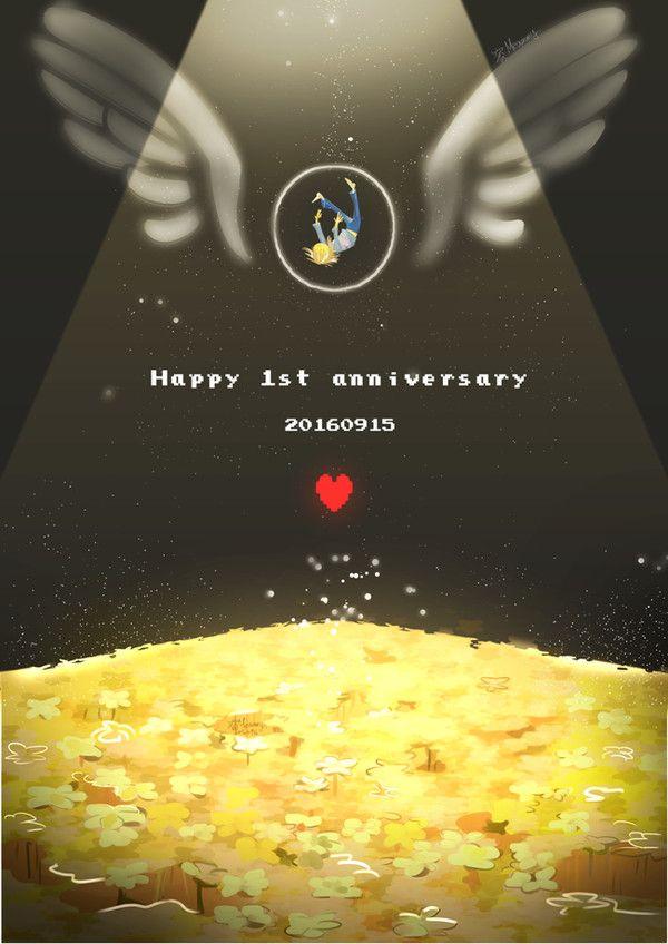 Финальная компиляция поздравлений в честь годовщины выхода Unndertale. Undertale, арт, годовщина, видео, длиннопост