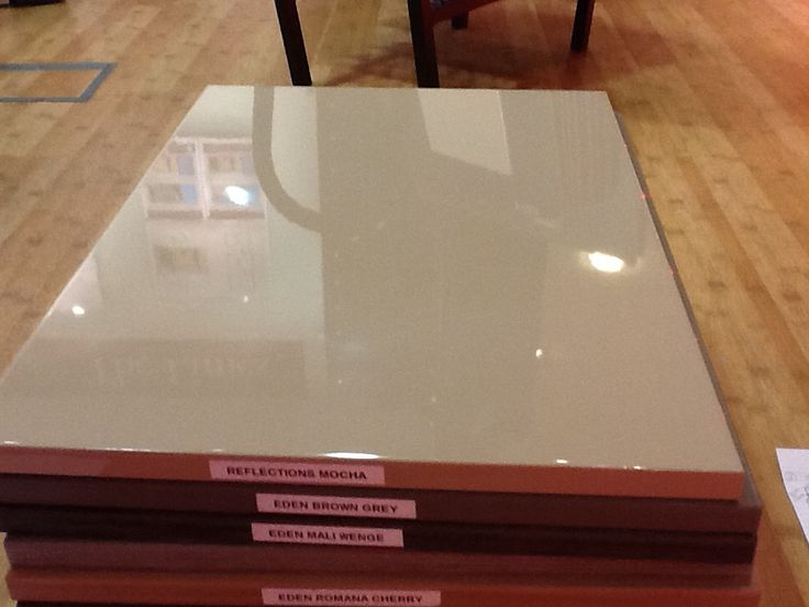Reflections Mocha - shiny slab