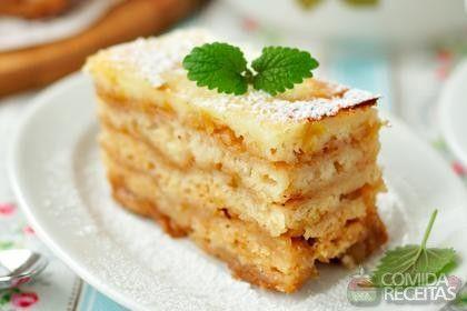 Receita de Torta de bolacha maria - Comida e Receitas