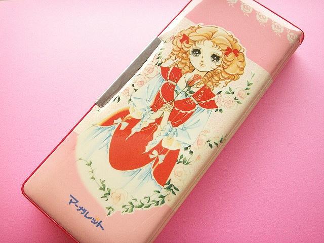 Kawaii Vintage Pencil Case Cute Girl Illustration Made in Japan 70s by Kawaii Japan, via Flickr