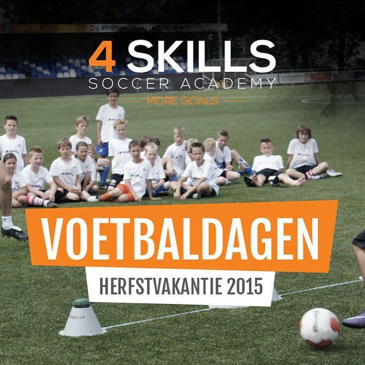 4-Skills Soccer Academy  Kom je voetbaltechniek verbeteren bij 4-Skills Soccer Academy!  Van 19  23 oktober 2015 houdt 4-Skills Soccer Academy de voetbaldagen bij ROHDA 76 te Bodegraven. De voetbaldagen vinden plaats op het sportpark De Broekvelden maar is toegankelijk voor alle jeugdige voetballiefhebbers uit de regio in de leeftijd van 6 t/m 16 jaar.  De visie van 4-Skills is gebaseerd op de trainingstechnieken van Rene Meulensteen geïntegreerd met de pedagogische aanpak van 4-Skills…
