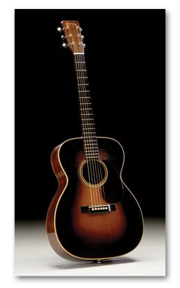Vintage 1935 Martin 000-28 Flat Top Acoustic Guitar