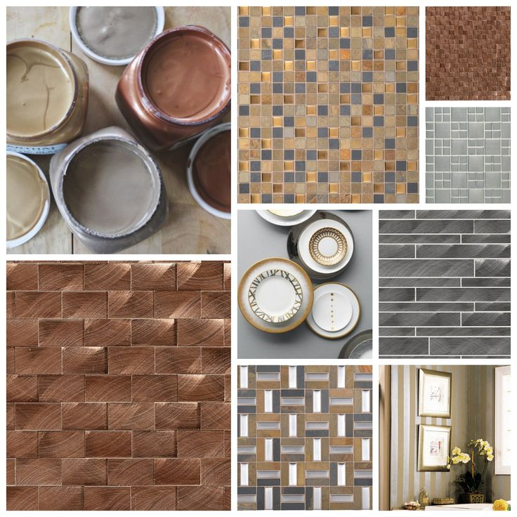 metallics using daltile mosaics find this pin and more on bathroom