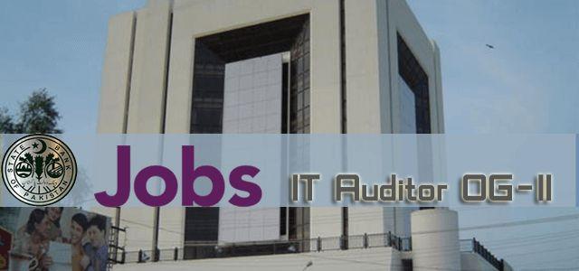 IT Auditor OG-II Jobs in State Bank of Pakistan in Pakistan Visit jobsingcc.com for more info @ http://jobsingcc.com/auditor-og-ii-jobs-state-bank-pakistan/