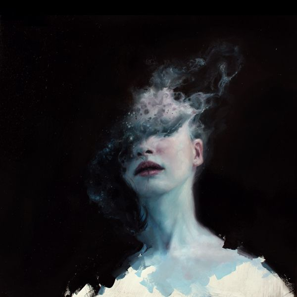 Omit by Henrik Uldalen #art #painting