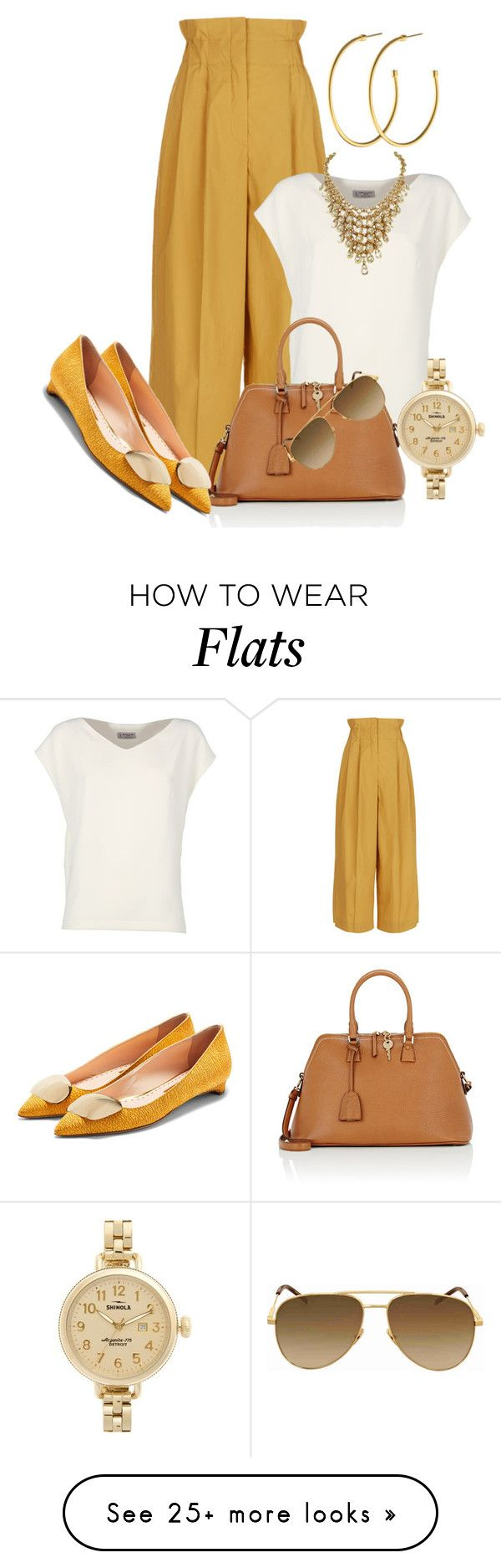 """Work Wear - Casual Friday"" by sonyastyle on Polyvore featuring Sonia Rykiel, Alberto Biani, Maison Margiela, Shinola, Dyrberg/Kern, Yves Saint Laurent and Rupert Sanderson"