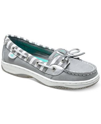 Sperry Top-Sider Girls' or Little Girls' Angelfish Boat Shoes- she's going to be a little mini-me..im sure she'll be ok with looking fabulous all the time <3Aubrey Maeve