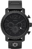 Fossil JR1303 Gage Plated Stainless Steel Watch - Black - #watches #brandnamewatches #womenswatches -   Always know your cardinal directions. This black chronograph has big and bold details, including a compass in the bracelet. Case Size: 49mmCase Th