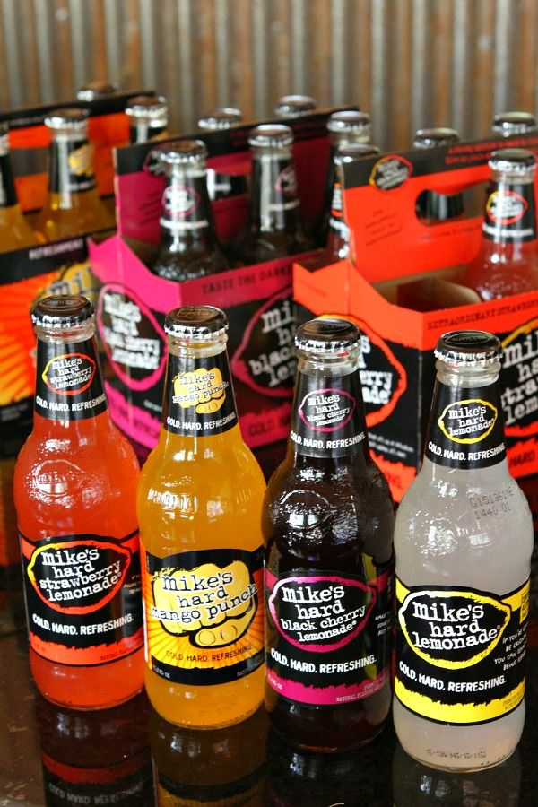 Mike's Hard Lemonade- LOVE this.  Can't wait to try all of these flavors.
