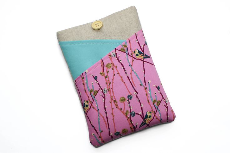 Handmade Kindle case made to order from HermioneSews on Etsy
