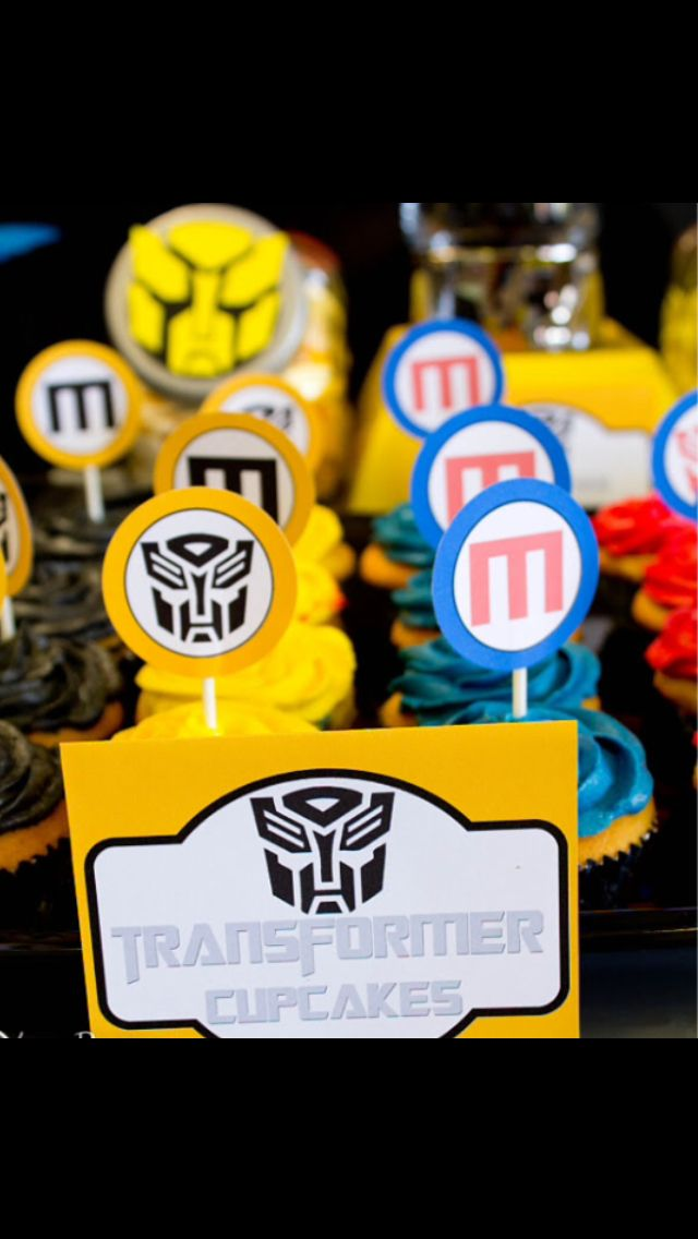 A Party Transformers Birthday