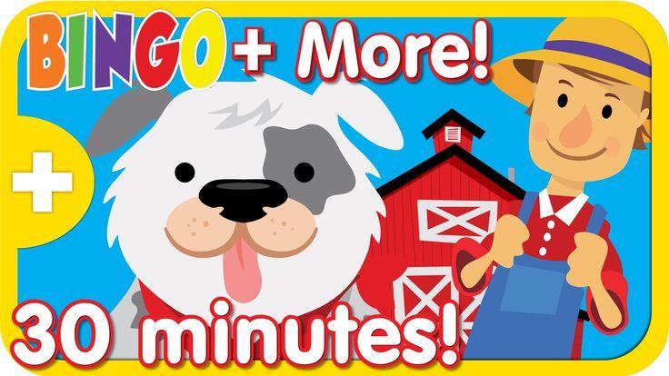 BINGO + More Top Kids Songs and Nursery Rhymes   30 minutes