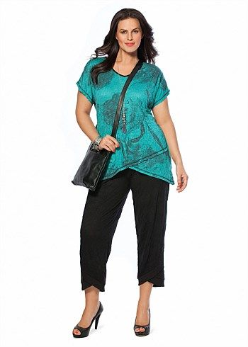 #TS14+ Full Bloom Top #plussize #curvy