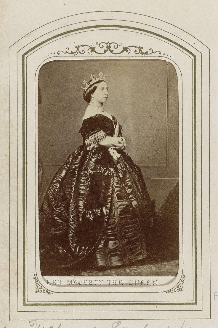 Portret koningin Victoria van Engeland (1819-1901), Charles Clifford
