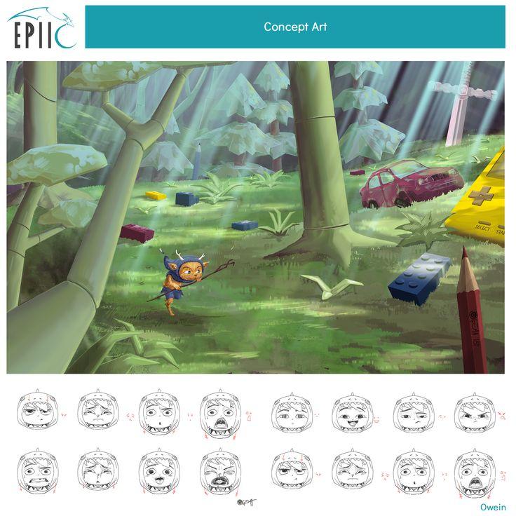 #conceptart #conceptartist #gameart #gameartist #videogames #pgw #pgw2017 #gaming #techart #montpellier #epiic