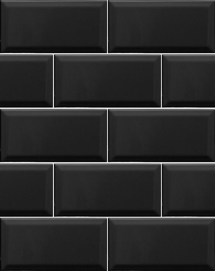 Metro Black Wall Tiles Another great design from our best selling Kitchen  wall