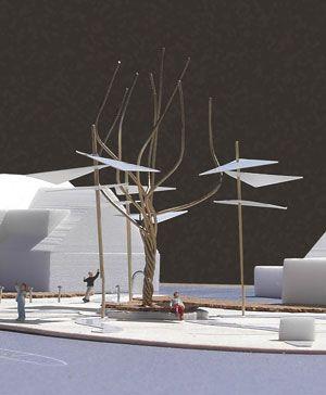 Inrichtingsvoorstel Amaliaplein in De Steeg, door Vollmer & Partners