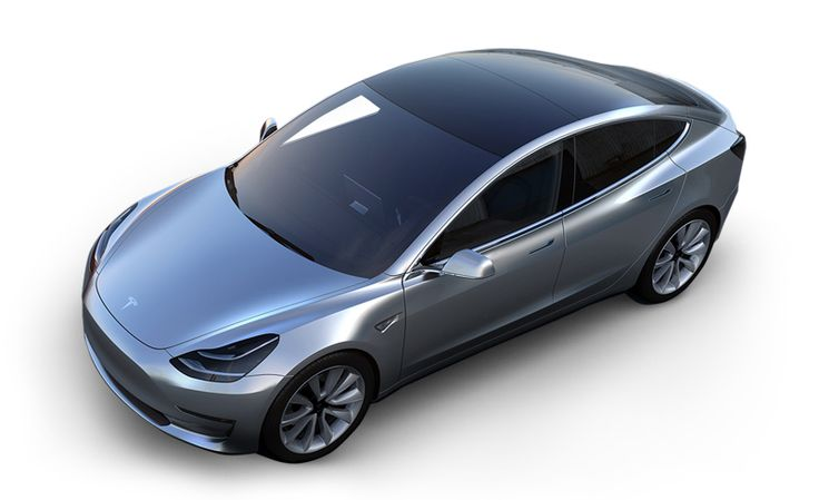 Tesla Model 3 - Car and Driver: Sales begin in late 2017. Tesla says the Model 3 will cost $35,000 before any tax incentives and will have a range of 215 miles for a rear drive version and a 0-60 time of less than 6 seconds.  #Electric_Vehicle