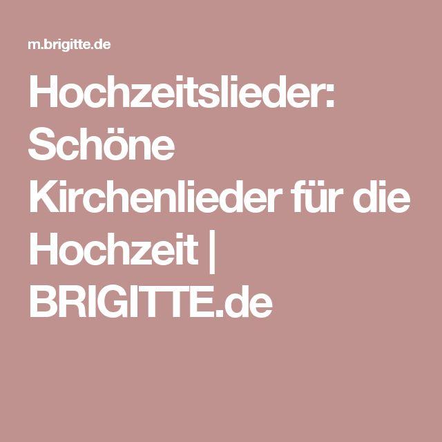 Hochzeitslieder: Schöne Kirchenlieder für die Hochzeit | BRIGITTE.de