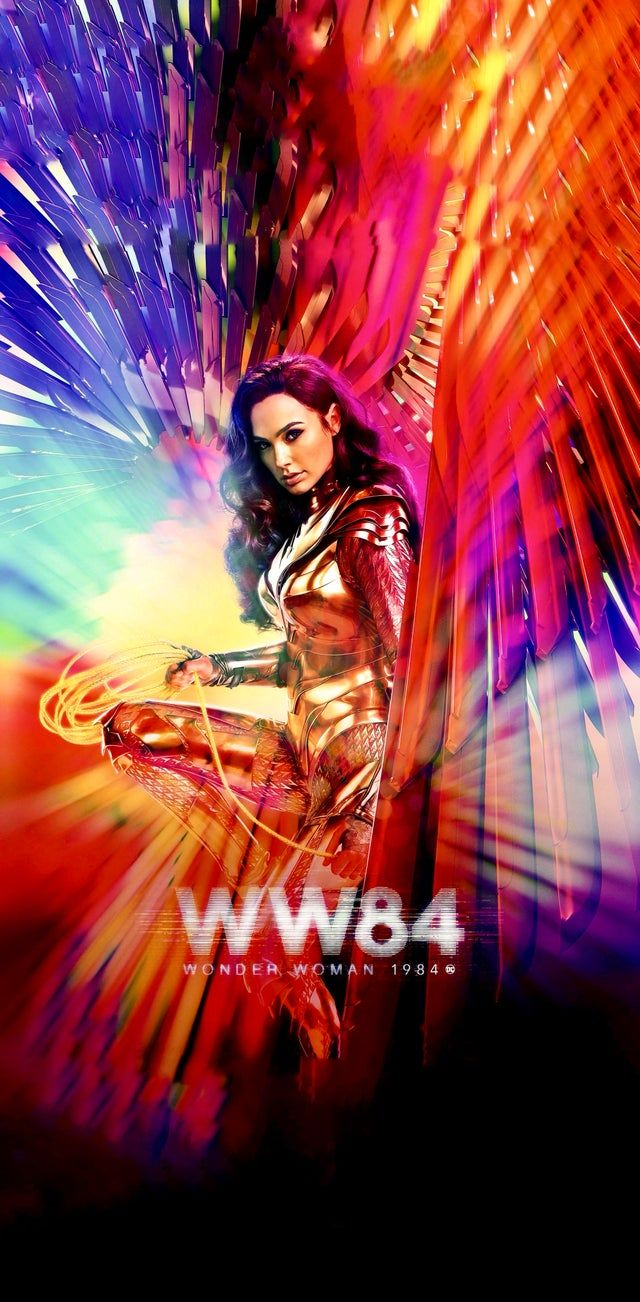 Wonder Woman 1984 Made The New Poster Taller Iwallpaper Wonder Woman Movie New Poster Wonder Woman