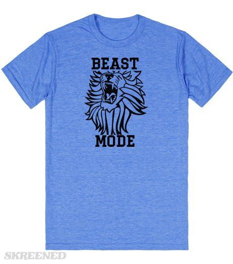 Beast Mode | Beast Mode t shirt #Skreened