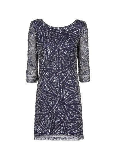 MANGO - Geometric embroidered dress - i wish this was sleeveless