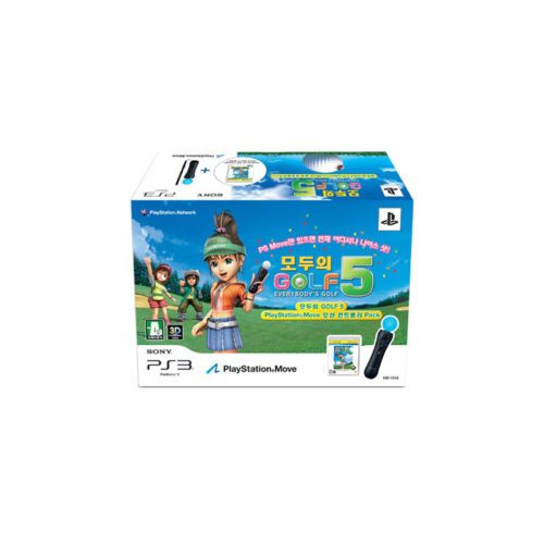 [PS3] Everybody's Golf 5 Move Pack Game SCEI Japanese(Game CD+Motion Controller)
