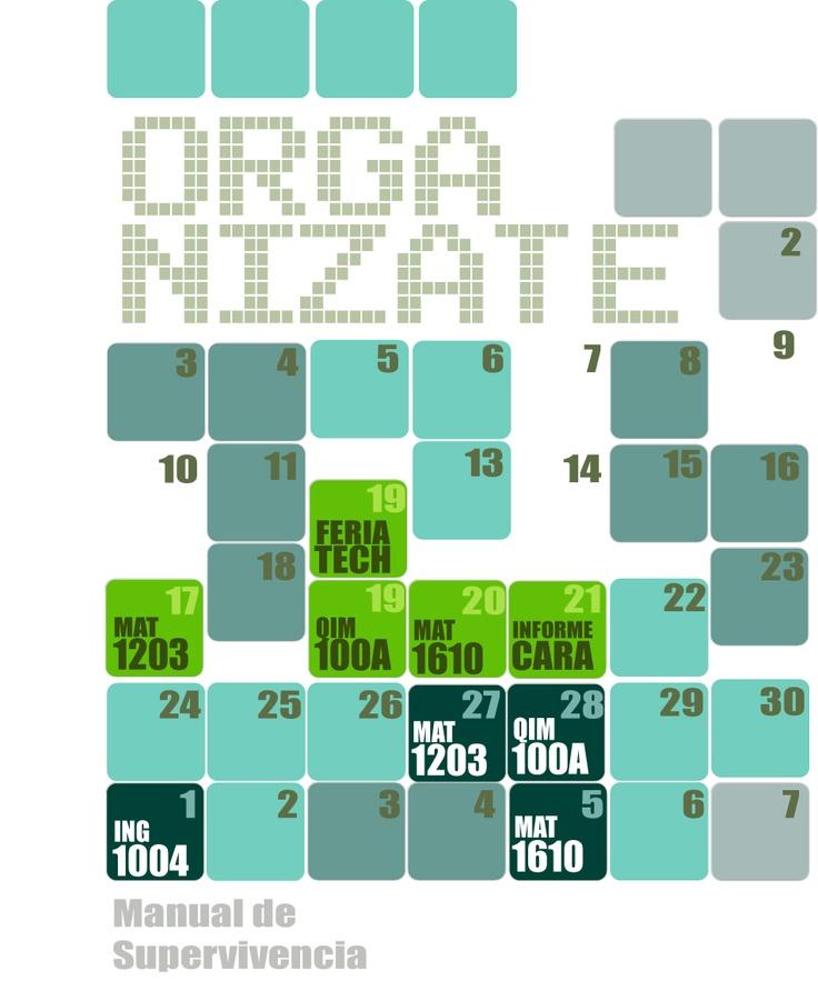 calendario 1 semetre