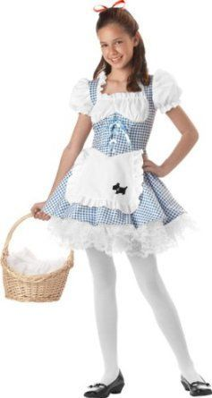 hollween costumes for preteens  | Amazon.com: Preteen Dorothy Halloween Costume (Size: 12-14): Clothing