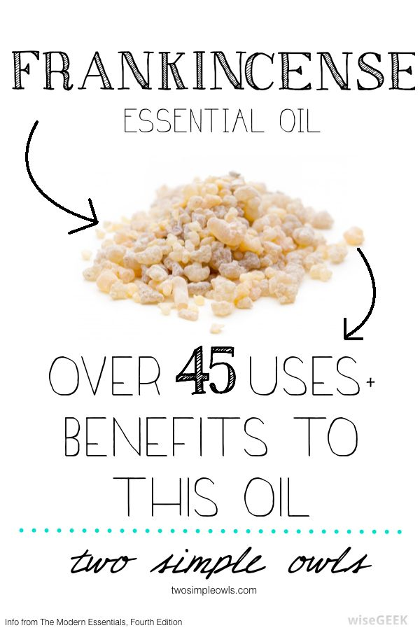 Frankincense is created by steam distillation of the gum/resin of the tree.  It has anticatarrhal, antidepressant, anti-infectious, anti-inflammatory, antiseptic, immune stimulant, and sedative pro...