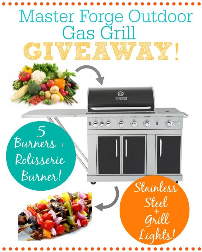 Grill Giveaway on chef-in-training.com