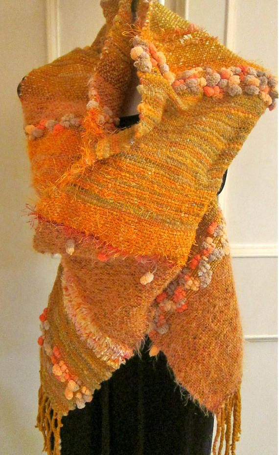 Rustic Shawl  the Autumn touch