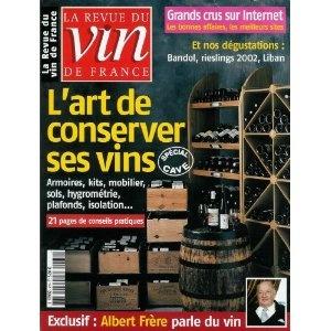 La Revue du vin de France - n°479 - 01/03/2004 - L'art de conserver ses vins [magazine mis en vente par Presse-Mémoire]