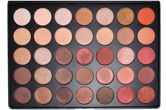 Morphe Brushes 35OS - 35 Color Shimmer Nature Glow Eyeshadow Palette i gruppen Smink / Ögon / Ögonskuggor hos Brallis AB (mb-35os)