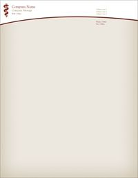 aesculapius doctor Letterhead