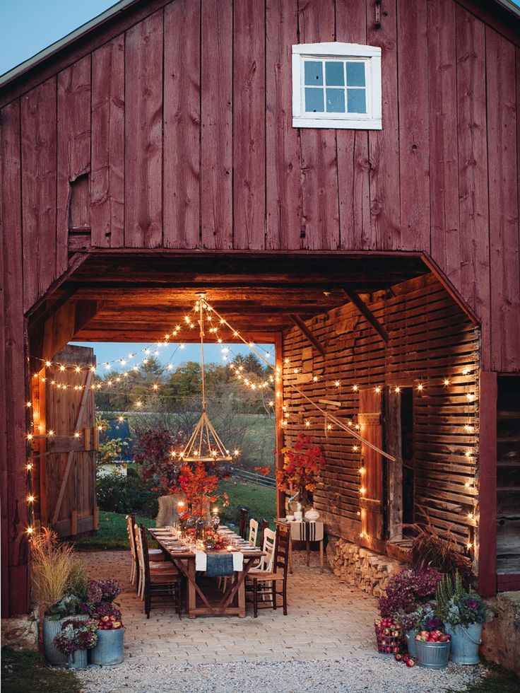 Farm Table Dinner Starbright Outdoor Rooms Beautiful Homes Living