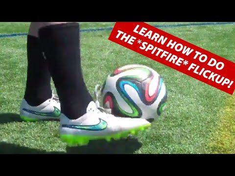 ▶ Learn The ★ SPITFIRE ★ Soccer Flickup Juggling Trick | Ronaldinho Tricks - YouTube